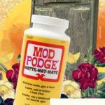 Mod Podge Rescue Project (A Big Fat Failure)