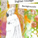 How to make a digital collage: Backgrounds