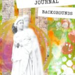 How to make digital junk journal backgrounds using Canva