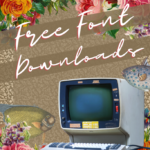 Where to get free fonts for digital art (and how to upload fonts to Canva)
